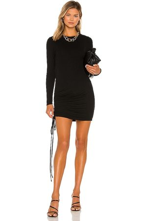 LA Made Indie Cinched Long Sleeve Dress in .
