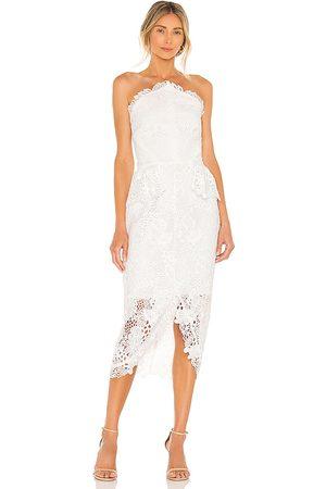ELLIATT X REVOLVE Lucinda Dress in Ivory.