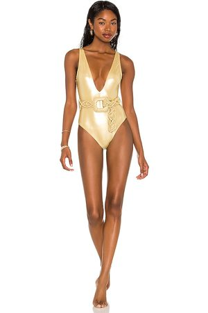 Normaillot Francesca One-Piece in Yellow.