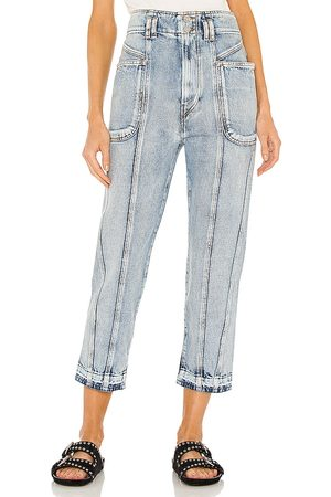 Isabel Marant Etoile Tuscon Tapered Jean in .