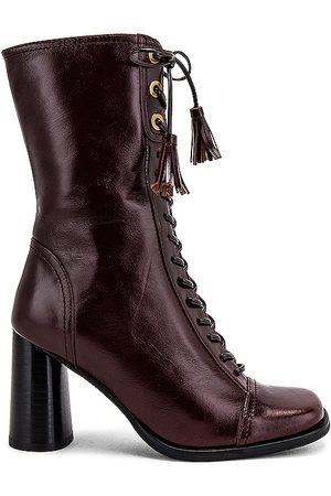 Jeffrey Campbell Hunts Boot in Chocolate.