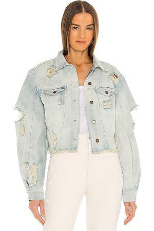 Retrofete Kat Jacket in Blue.