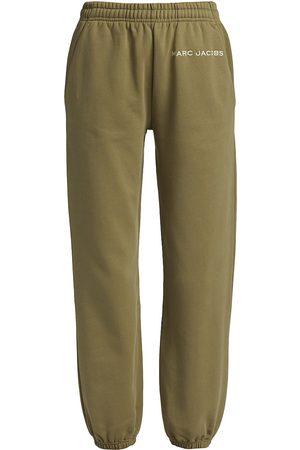 The Marc Jacobs Women Sweatpants - Cotton Logo Sweatpants