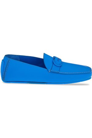 Salvatore Ferragamo Men Loafers - Palinuro Leather Loafers