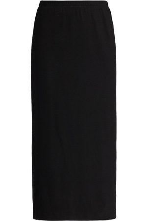 Caroline Rose Women Pencil Skirts - Fall For It Rib-Knit Pencil Skirt