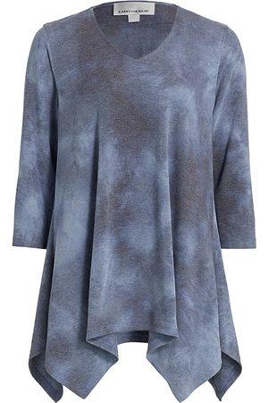 Caroline Rose Women Sweats - Loungewear Tie-Dye Swing Tunic