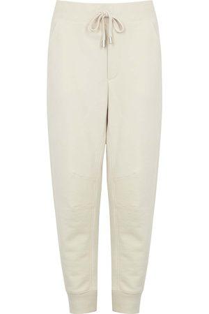 VERONICA BEARD Preslee ecru cotton sweatpants