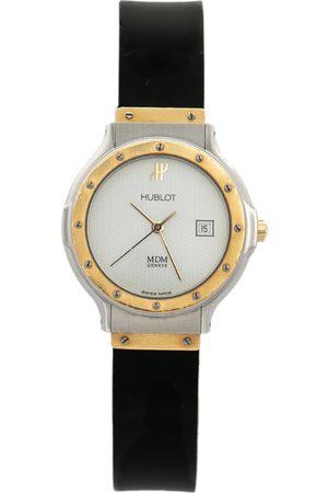 Hublot 18K Yellow Gold & Stainless Steel MDM 1391.2 Women's Wristwatch 28 mm