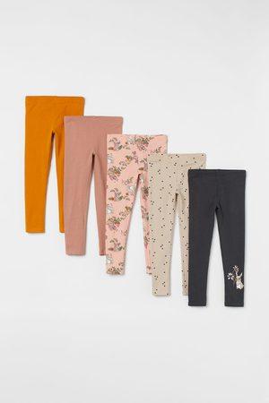 H & M Kids Jeans - 5-pack Cotton Leggings