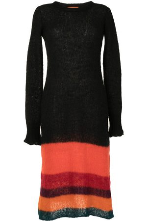 Colville Women Knitted Dresses - Striped knitted dress