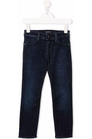 Emporio Armani Kids Girls Slim - Slim-fit denim jeans