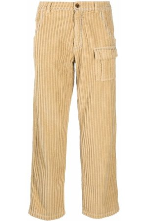 ERL Corduroy cargo trousers - Neutrals