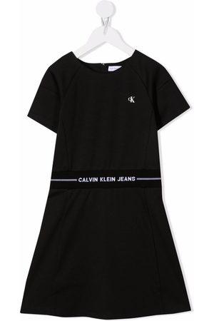 Calvin Klein Logo-print waistband dress