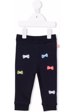 Billieblush Baby Leggings - Bow-detail cotton-blend leggings