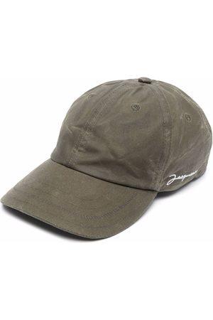 Jacquemus Men Caps - Embroidered-logo baseball cap