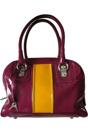 Dolce & Gabbana Patent leather bowling bag