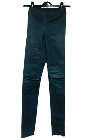 Joseph Leather slim pants