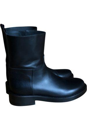 ANN DEMEULEMEESTER Men Boots - Leather boots
