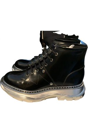 Alexander McQueen Men Boots - Leather boots
