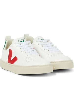 Veja V-10 faux leather sneakers