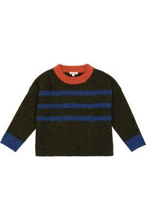 Caramel Luna alpaca and wool sweater