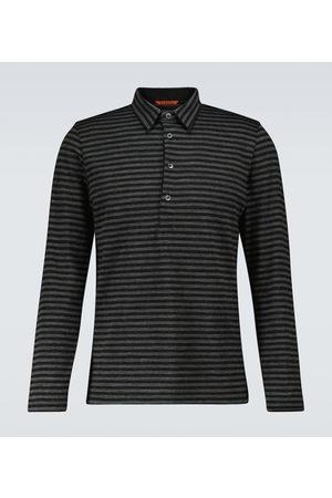 Barena Venezia Striped long-sleeved polo shirt