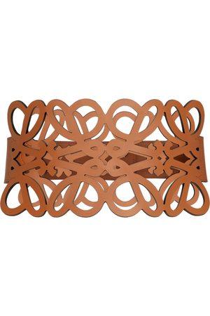 LOEWE Anagram cutout leather corset belt