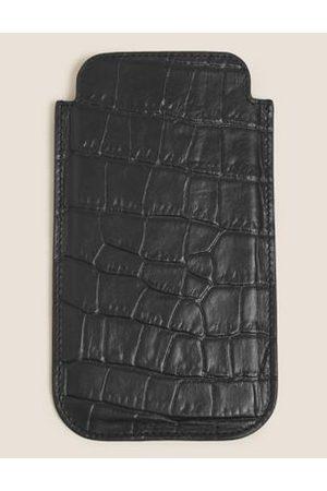Marks & Spencer Mock Croc Leather iPhone 11 Case
