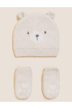 Hats - Kids' Animal Hat and Mitten Set (0-6 Yrs)