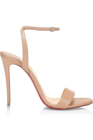 Christian Louboutin Girls Sandals - Loubi Girl Leather Sandals