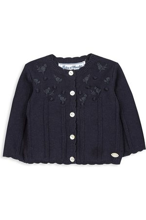 Tartine Et Chocolat Baby Girl's & Little Girl's Embroidered Knit Cardigan