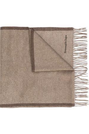 Ermenegildo Zegna Brushed silk scarf - Neutrals
