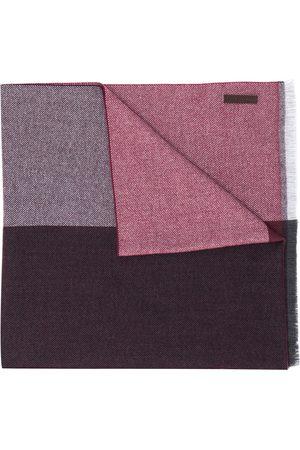 Ermenegildo Zegna Striped knit scarf