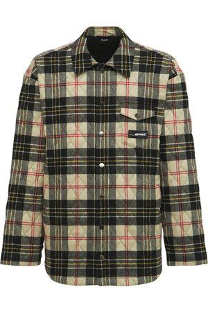 EGONLAB Shadow Quilted Merino Wool Shirt