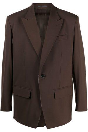 VALENTINO Men Blazers - Peak-lapel single-breasted blazer