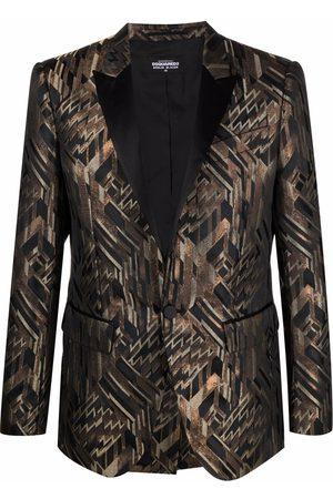 Dsquared2 Men Blazers - Berlin metallic blazer
