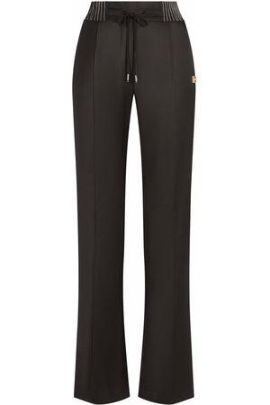 Dolce & Gabbana Women Straight Leg Pants - Straight-leg twill trousers