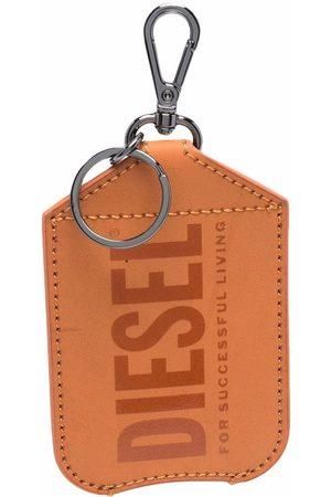Diesel Men Keychains - Logo-print hand sanitiser holder