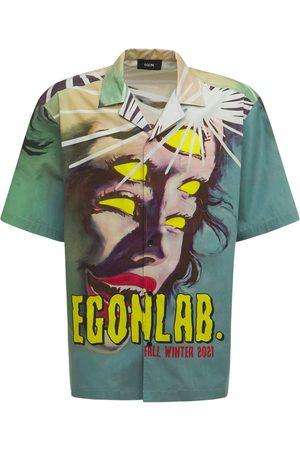 EGONLAB Print Vampirella Cotton Shirt