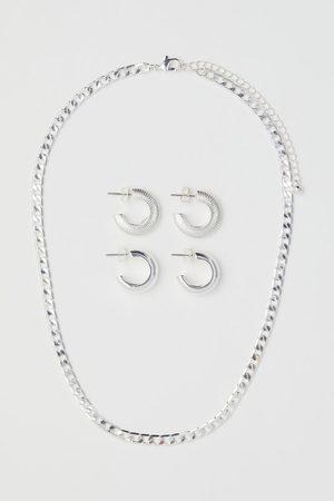 H & M Women Earrings - Necklace and Earrings