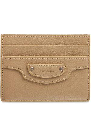 BALENCIAGA Neo Classic Leather Card Holder