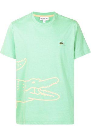 Lacoste Men Short Sleeve - Logo-print short-sleeved T-shirt