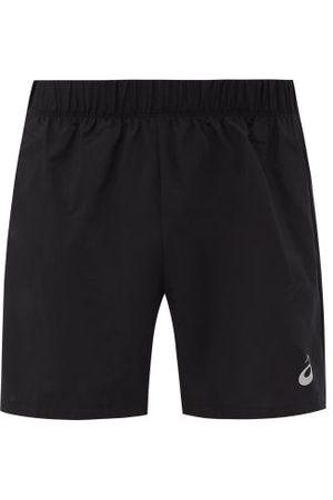 Asics Katakana Reflective-logo Running Shorts - Mens