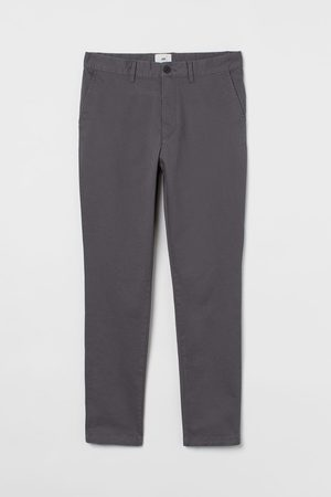 H & M Skinny Fit Cotton Chinos