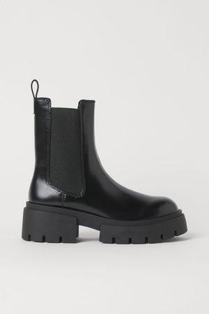 H & M Platform Chelsea-style Boots