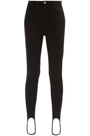 Frame Ali High-rise Stirrup-cuff Jeans - Womens