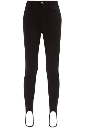 Frame Women High Waisted - Ali High-rise Stirrup-cuff Jeans - Womens