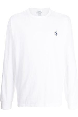Polo Ralph Lauren Men Polo Shirts - Polo Pony-embroidered cotton T-shirt