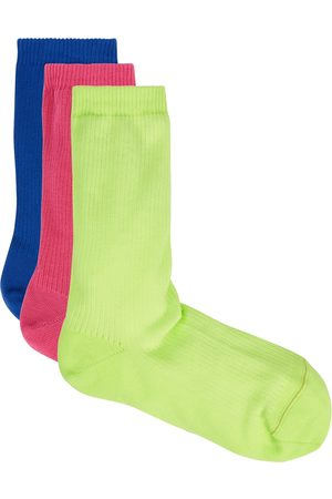 RED Valentino Cotton-blend socks - set of three