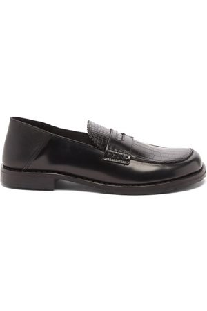 Eytys Otello Leather Penny Loafers - Mens
